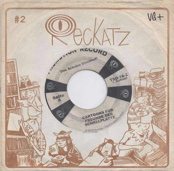 Reckatz - Comicband 2 - bei Silver Disc