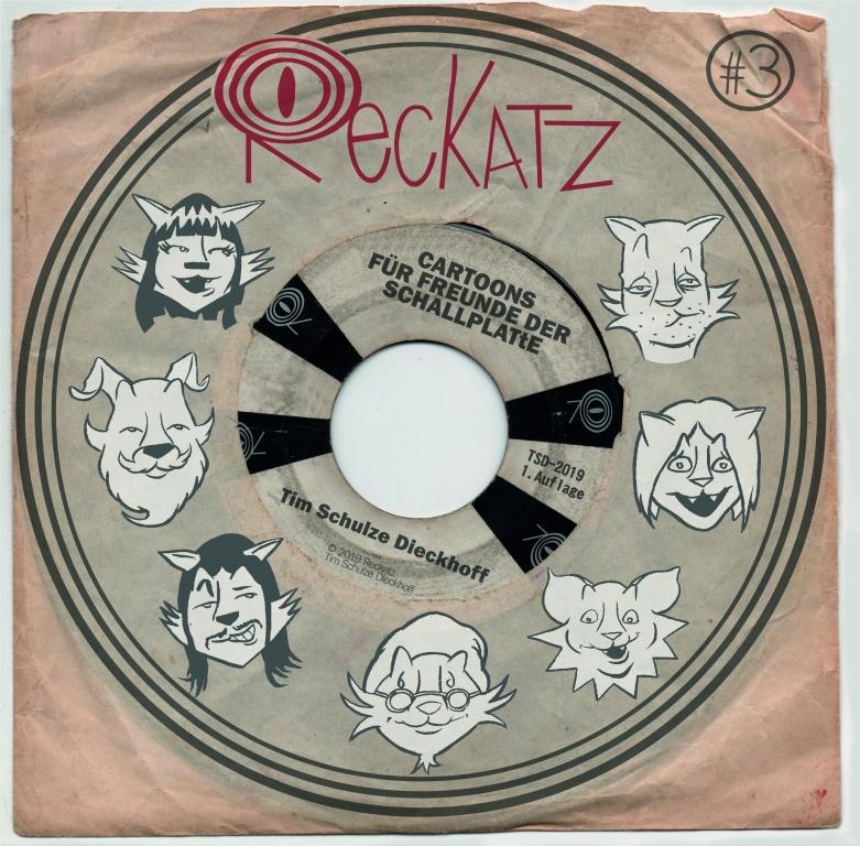 Reckatz - Comicband 3 - bei Silver Disc