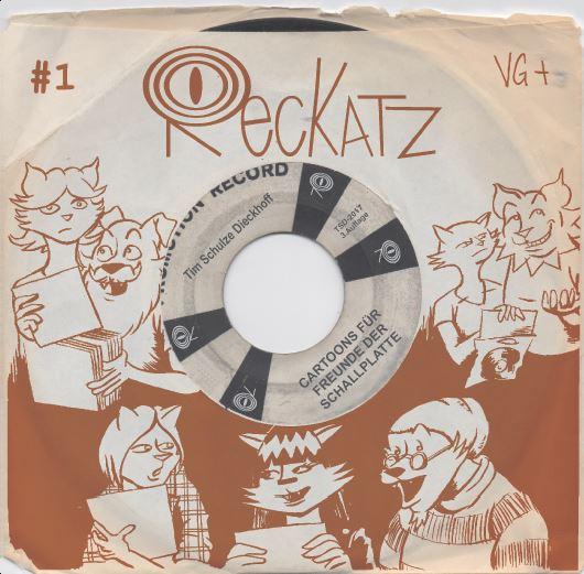 Reckatz - Comicband 1 - bei Silver Disc